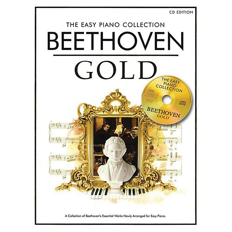 Music SalesThe Essential Collection Beethoven Easy Piano Gold Book/CD