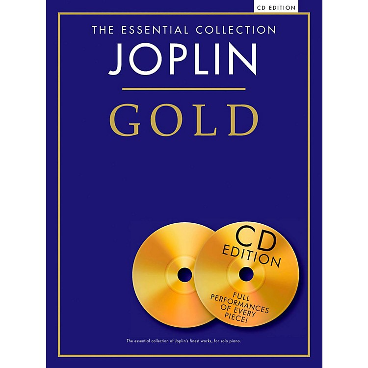 Music Sales The Essential Collection Joplin Gold Book/CD