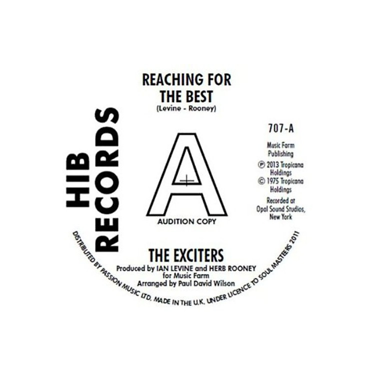 Alliance The Exciters - Reaching for the Best