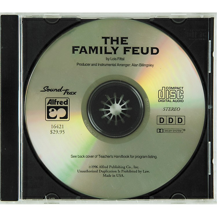 Alfred The Family Feud: A Musical Debate Soundtrax Cd