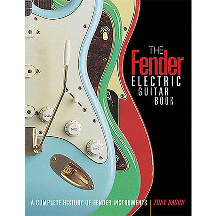Hal LeonardThe Fender Electric Guitar Book 3rd Edition