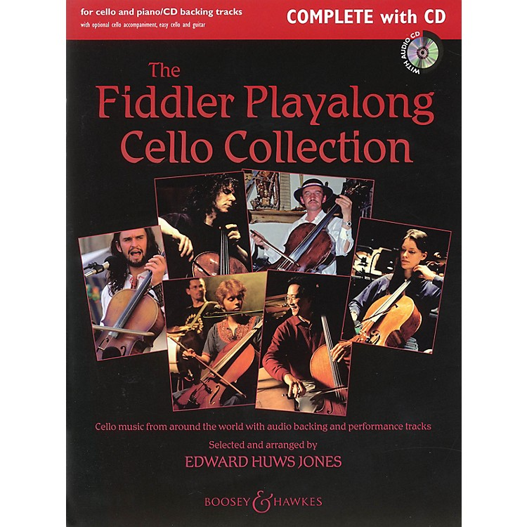 Boosey and HawkesThe Fiddler Playalong Cello Collection Boosey & Hawkes Chamber Music Series Softcover with CD