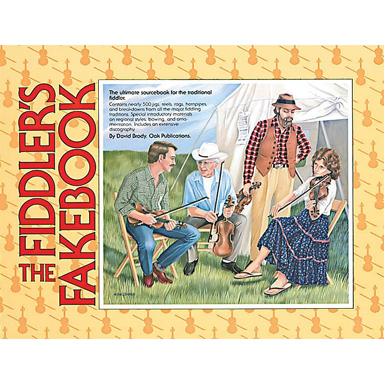 OakThe Fiddler's Fakebook Music Sales America Series Softcover