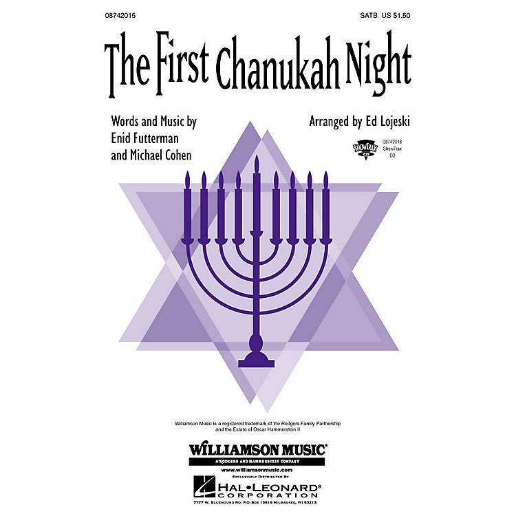 Hal LeonardThe First Chanukah Night ShowTrax CD Arranged by Ed Lojeski