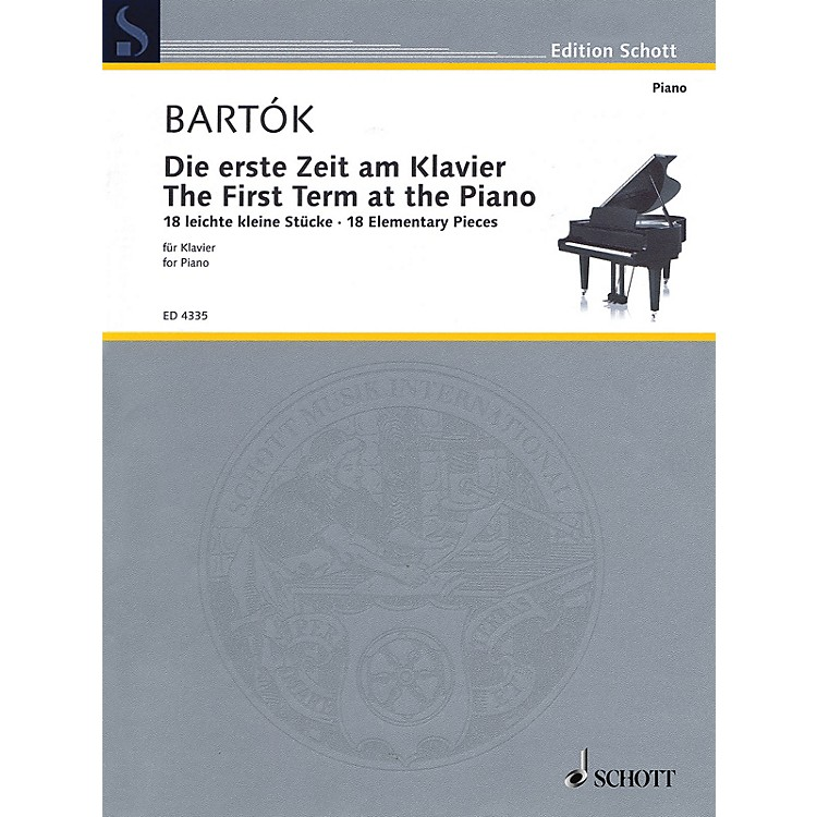 SchottThe First Term at the Piano - 18 Elementary Pieces Schott Series Softcover