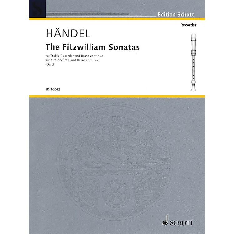 SchottThe Fitzwilliam Sonatas Schott Series Composed by Georg Friedrich Händel Arranged by Thurston Dart