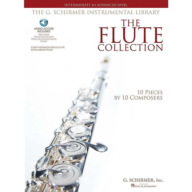 G. SchirmerThe Flute Collection - Intermediate to Advanced Level Woodwind Solo Series Softcover Audio Online