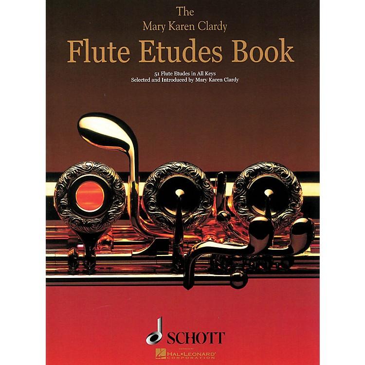 SchottThe Flute Etudes Book Schott Series Softcover Composed by Mary Karen Clardy