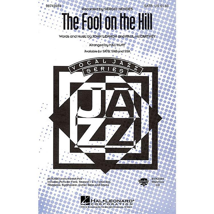 Hal LeonardThe Fool on the Hill SAB by The Beatles Arranged by Mac Huff