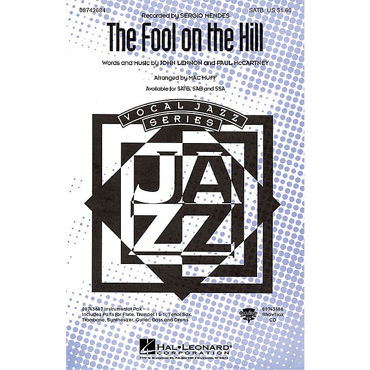 Hal LeonardThe Fool on the Hill ShowTrax CD by The Beatles Arranged by Mac Huff