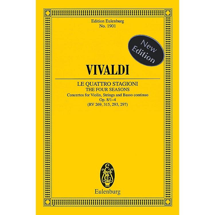 EulenburgThe Four Seasons, Op. 8, Nos. 1-4 Study Score Series Softcover Composed by Antonio Vivaldi