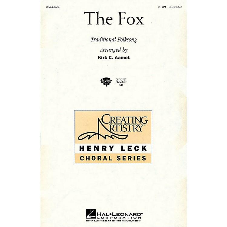 Hal LeonardThe Fox 2-Part arranged by Kirk Aamot