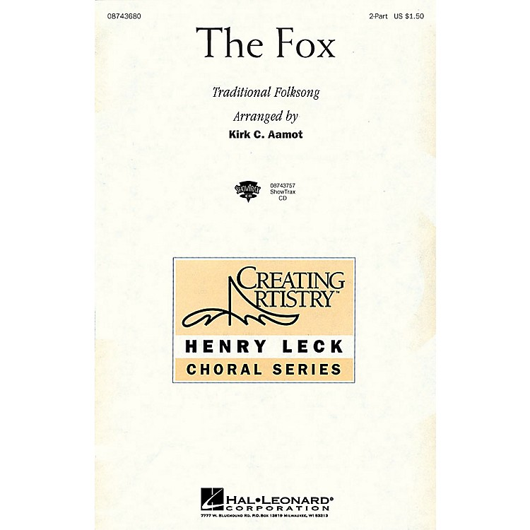Hal Leonard The Fox ShowTrax CD Arranged by Kirk Aamot