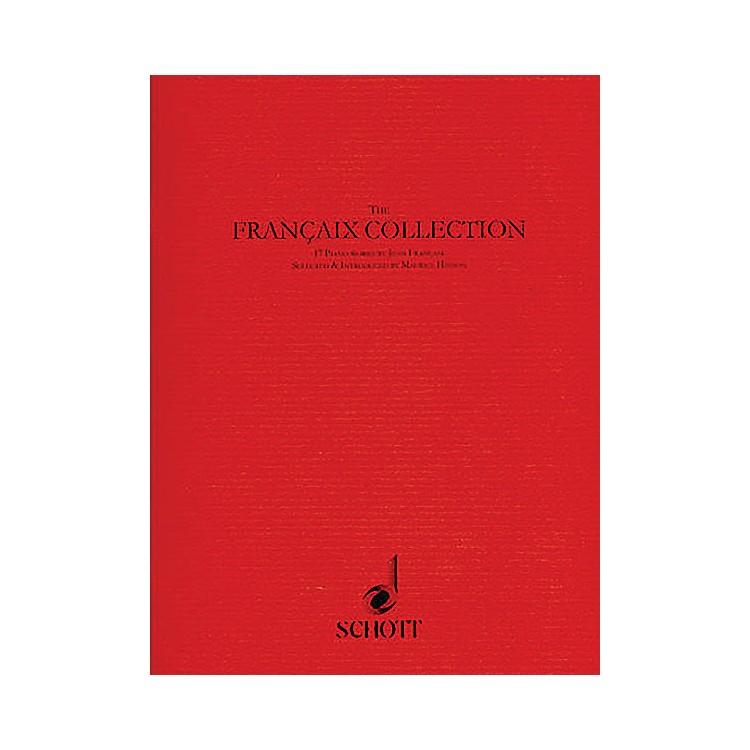 SchottThe Françaix Collection (17 Piano Pieces) Schott Series Softcover Composed by Jean Françaix