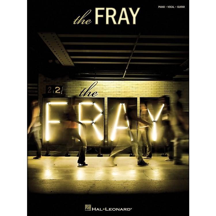 Hal Leonard The Fray arranged for piano, vocal, and guitar (P/V/G)