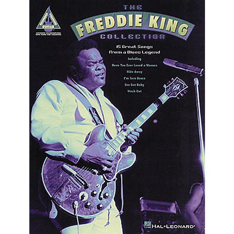 Hal Leonard The Freddie King Collection Guitar Tab Songbook