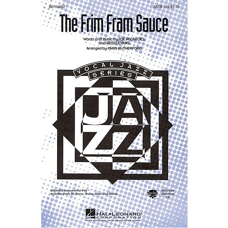 Hal LeonardThe Frim Fram Sauce SATB arranged by Paris Rutherford
