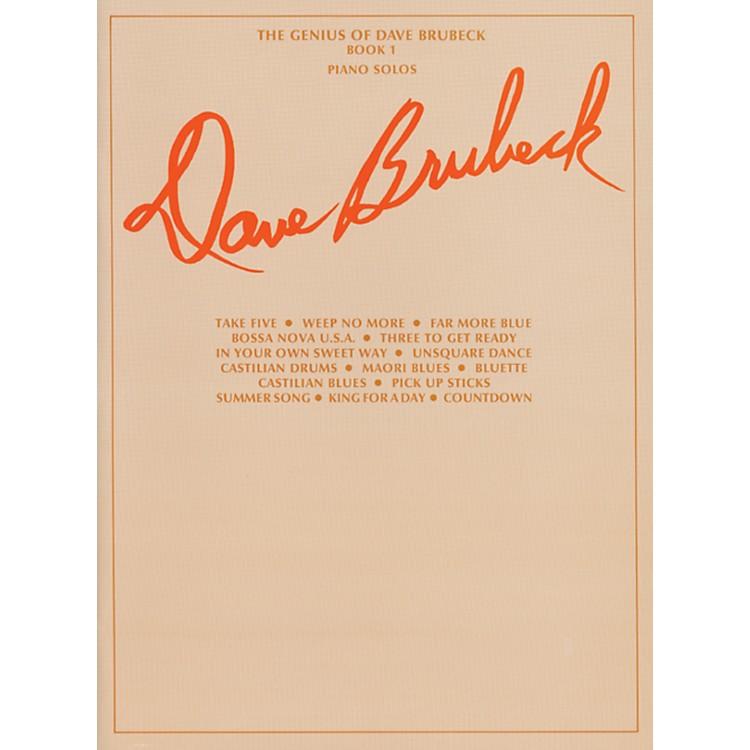 AlfredThe Genius of Dave Brubeck for Piano, Book 1