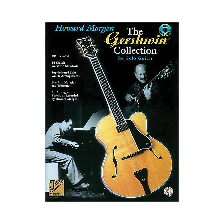 AlfredThe Gershwin Collection for Solo Guitar (Jazz Masters Series) Guitar Book Series Softcover with CD