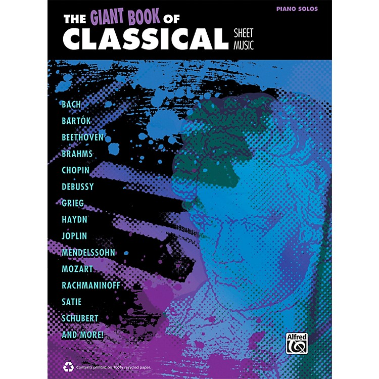 AlfredThe Giant Book of Classical Sheet Music Piano Book