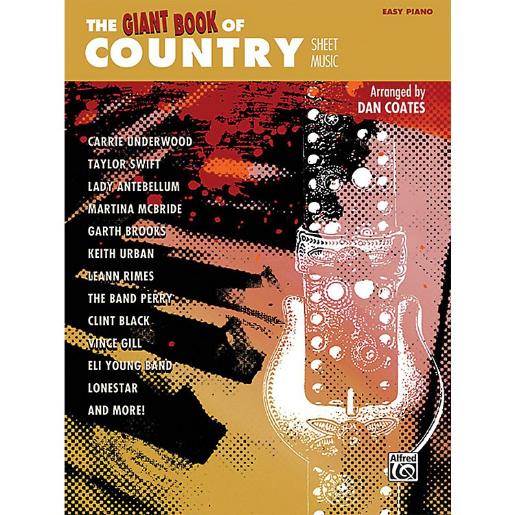 AlfredThe Giant Book of Country Sheet Music Easy Piano Book