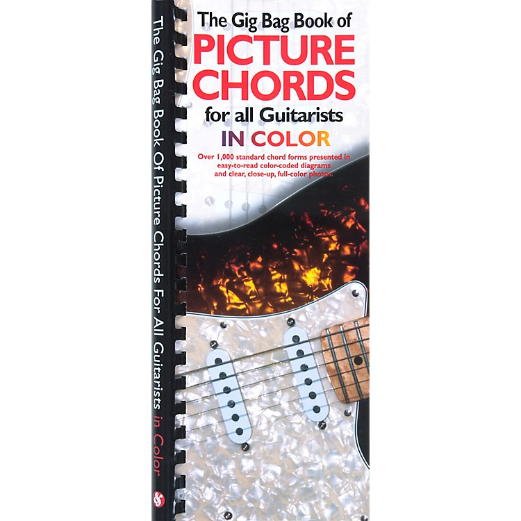 AmscoThe Gig Bag Book of Picture Chords for all Guitarists in Color Book