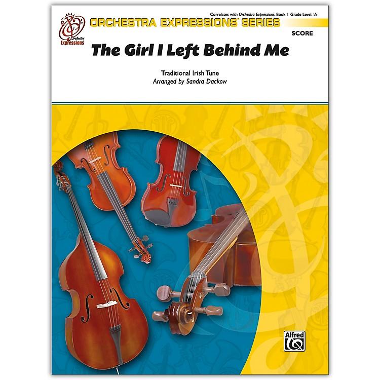 AlfredThe Girl I Left Behind Me Conductor Score 0.5