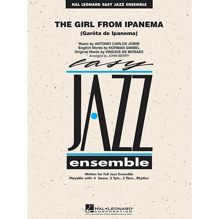 Hal LeonardThe Girl from Ipanema Jazz Band Level 2 Arranged by John Berry