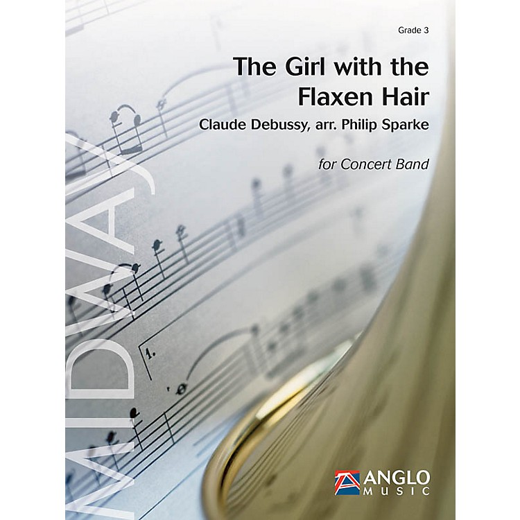 De Haske MusicThe Girl with the Flaxen Hair (Grade 3 - Score and Parts) Concert Band Level 3 Arranged by Philip Sparke