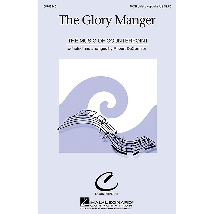 Hal LeonardThe Glory Manger SATB a cappella arranged by Robert DeCormier