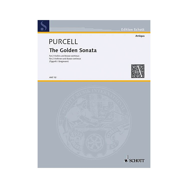 Schott The Golden Sonata (Score and Parts) Schott Series Composed by Henry Purcell
