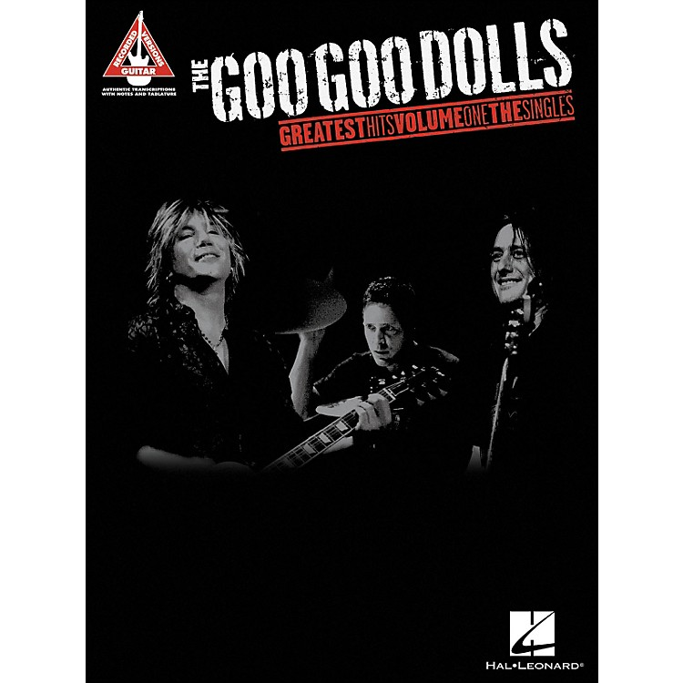 Hal LeonardThe Goo Goo Dolls - Greatest Hits Volume 1 The Singles Tab Book