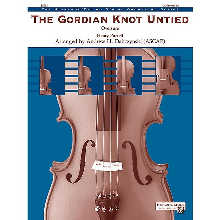 AlfredThe Gordian Knot Untied String Orchestra Grade 2.5
