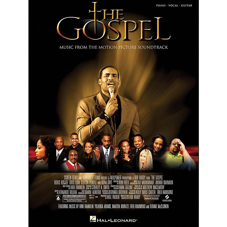 Hal LeonardThe Gospel Music From The Motion Picture Soundtrack arranged for piano, vocal, and guitar (P/V/G)