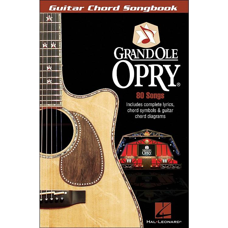 Hal LeonardThe Grand Ole Opry Guitar Chord Songbook