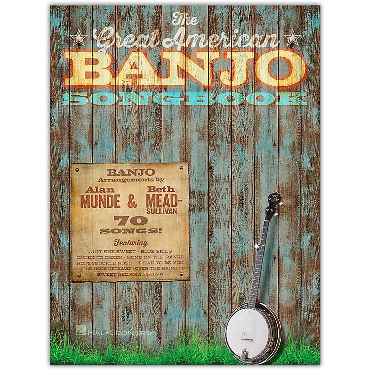 Hal LeonardThe Great American Banjo Songbook