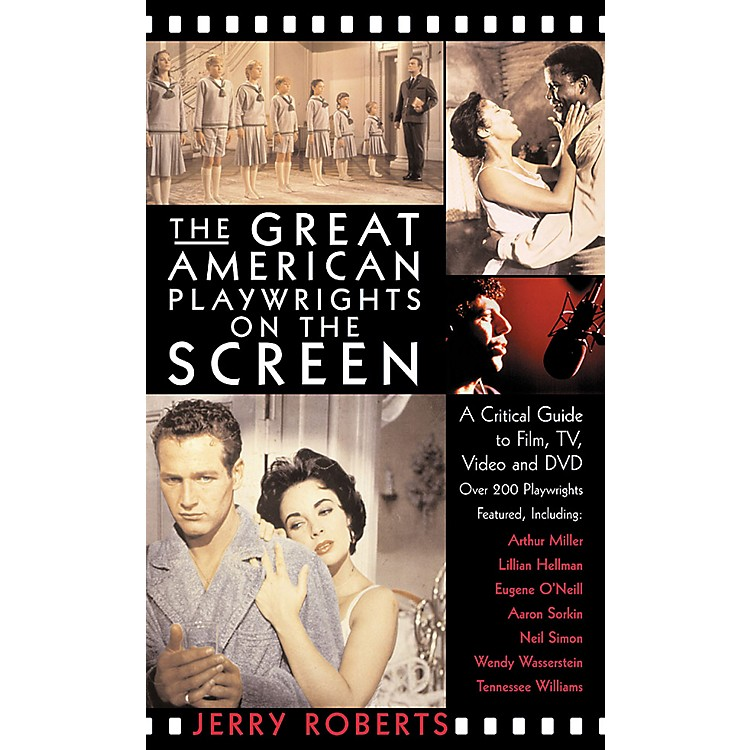 Applause Books The Great American Playwrights on the Screen Applause Books Series Softcover Written by Jerry Roberts