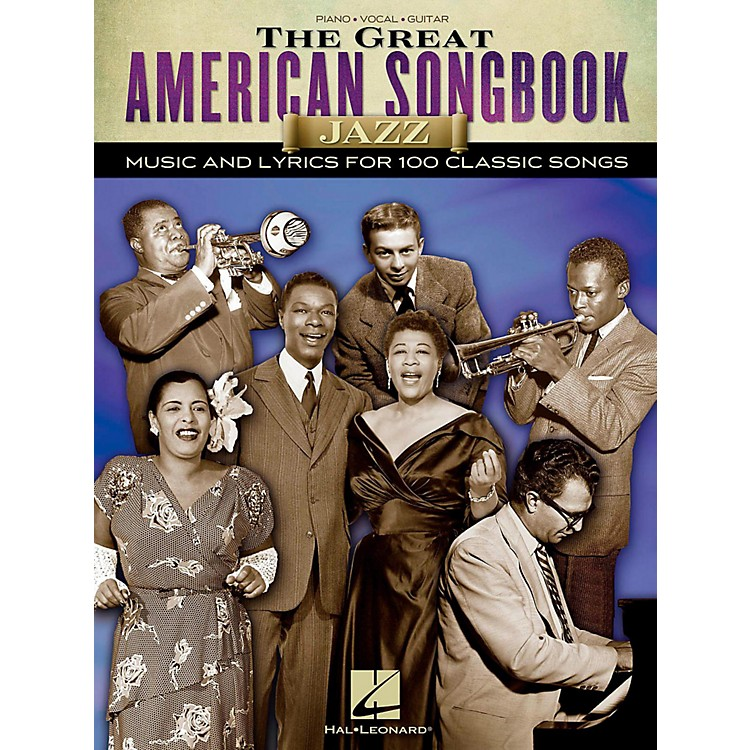 Hal LeonardThe Great American Songbook - Jazz for Piano/Vocal/Guitar Songbook
