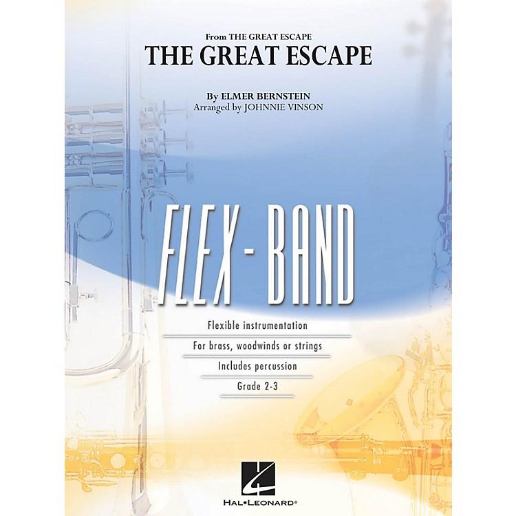 Hal LeonardThe Great Escape (March) Concert Band Level 2-3 Arranged by Johnnie Vinson
