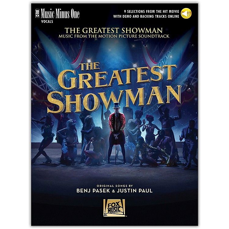 Music Minus OneThe Greatest Showman - Music Minus One Vocal Book/Online Audio