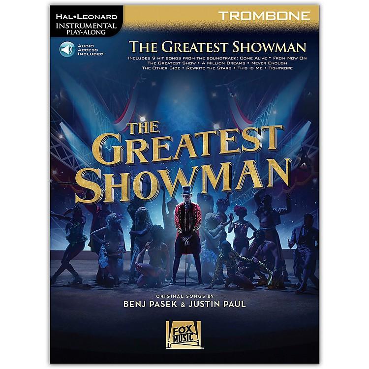 Hal LeonardThe Greatest Showman Instrumental Play-Along Series for Trombone Book/Online Audio