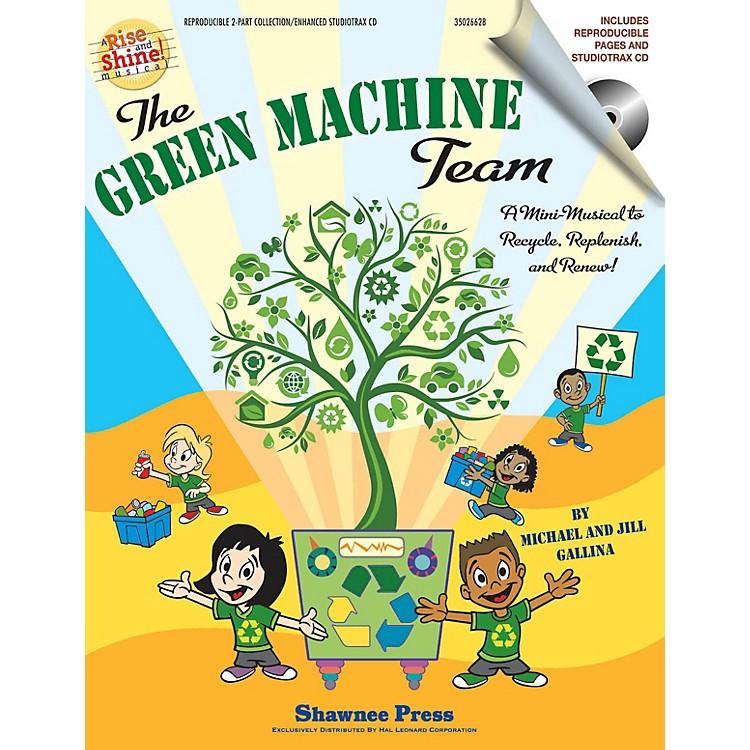 Hal LeonardThe Green Machine Team - A Mini-Musical to Recycle, Replenish, and Renew! CLASSRM KIT by Jill Gallina