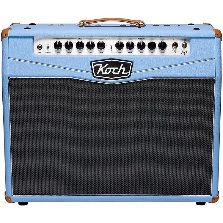 KochThe Greg Greg Koch Signature 50W 2x10 Tube Guitar Combo AmpBlue