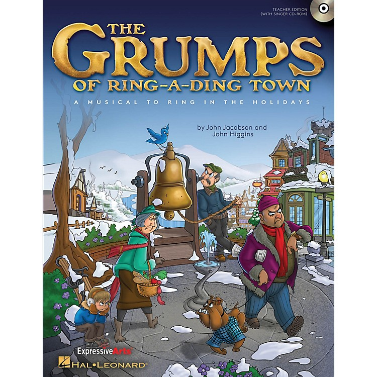 Hal Leonard The Grumps of Ring-A-Ding Town (A Holiday Musical for Young Voices) PREV CD Composed by John Jacobson