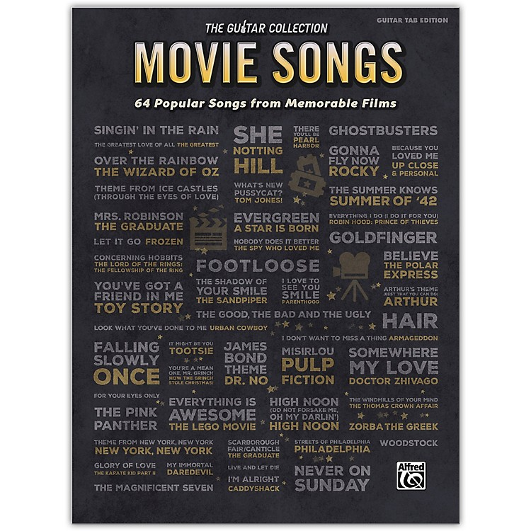 AlfredThe Guitar Collection: Movie Songs Guitar TAB Edition Songbook