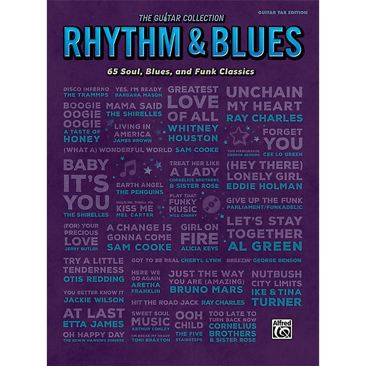 Alfred The Guitar Collection: Rhythm & Blues - Guitar TAB Edition Songbook