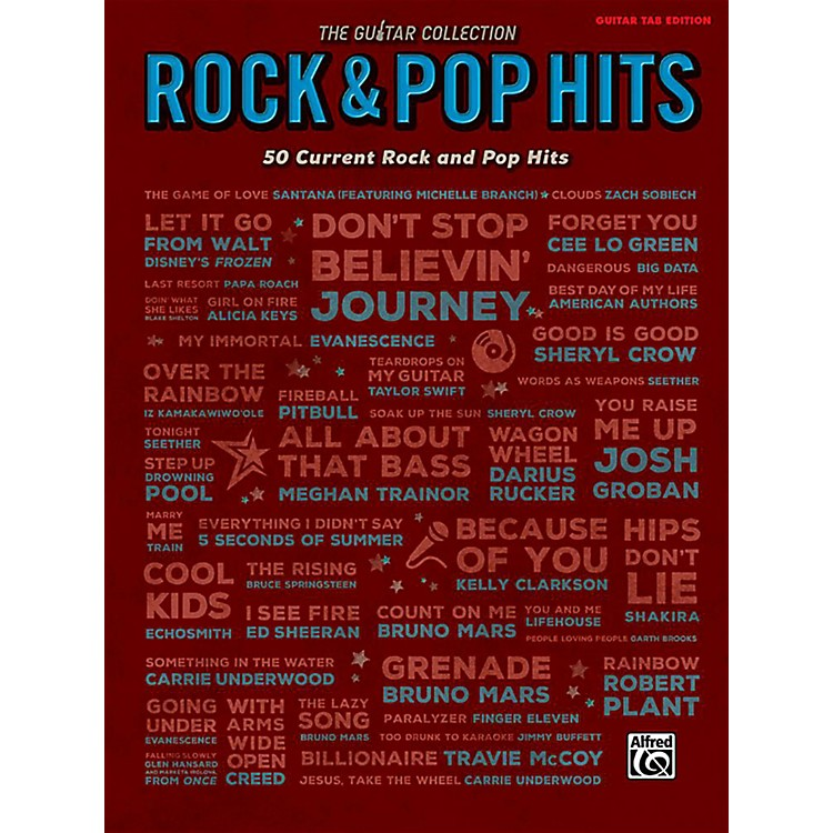 Alfred The Guitar Collection: Rock & Pop Hits - Guitar TAB Edition Songbook