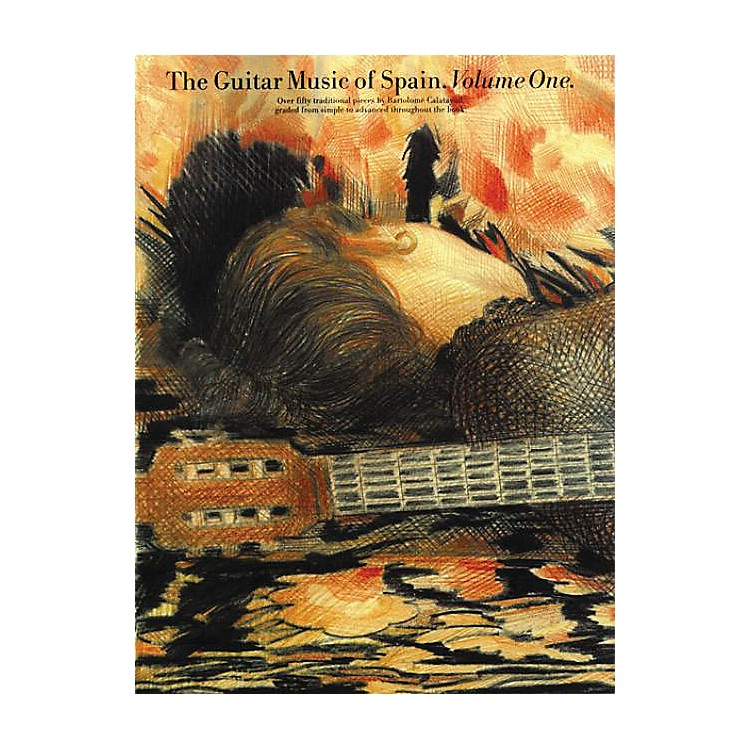 Music SalesThe Guitar Music of Spain - Volume 1 Music Sales America Series Softcover