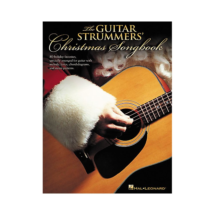 Hal Leonard The Guitar Strummers' Christmas Chord Songbook