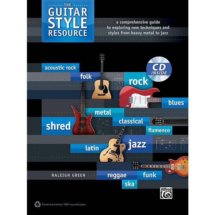 AlfredThe Guitar Style Resource Book & CD